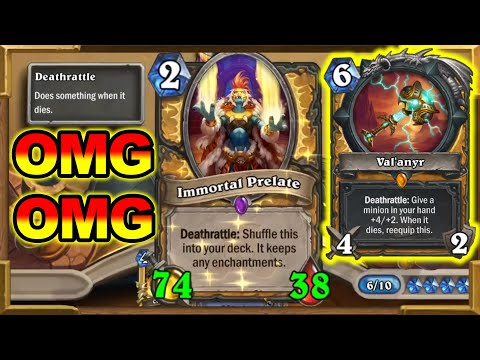 Infinite And Beyond! Quest Paladin But It's God Level! Best Combo Of 2021 In Wild | Hearthstone