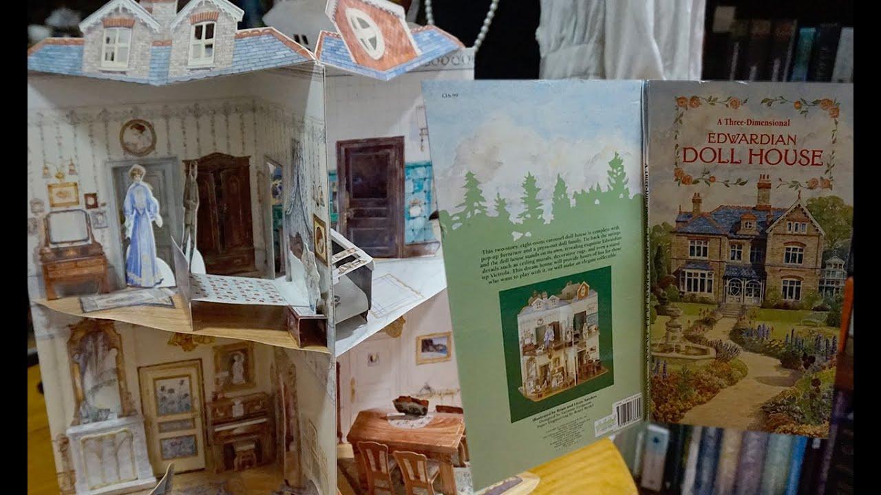Edwardian Dollhouse Pop Up Book Youtube