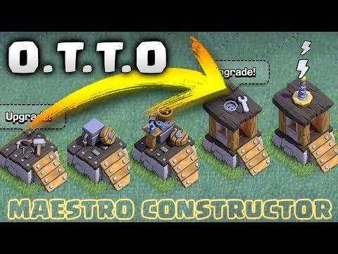 ¿ COMO DESBLOQUEAR Al NUEVO CONSTRUCTOR ? O.T.T.O - ACTUALIZACION CLASH OF CLANS