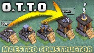 COMO DESBLOQUEAR al NUEVO CONSTRUCTOR O.T.T.O - ACTUALIZACION CLASH OF CLANS