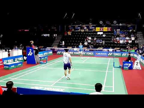 Viktor Axelsen vs Du Pengyu Set 3/3 - INDIA OPEN 2014, MS QF