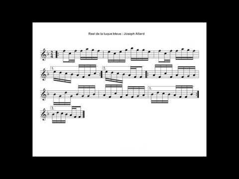 Folklore Québécois - ♫ Joseph Allard - Reel de la tuque bleue ♫