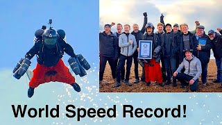 Jet Suit Speed Guinness World Record 85MPH!