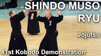 Shindo Muso-ryu Jo-jutsu - 41st Kobudo Demonstration 2018