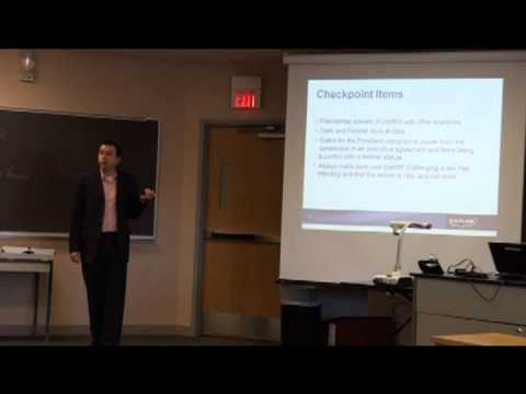 2013-02-21 Kaplan Constitutional Law Lecture