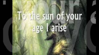 Faith and the Muse - Cernunnos [lyrics]