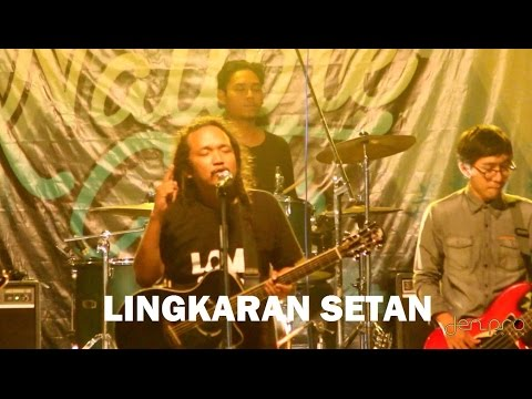Den Basito and The Human Tribe - LINGKARAN SETAN Live at Ledug Nature Art Pasuruan