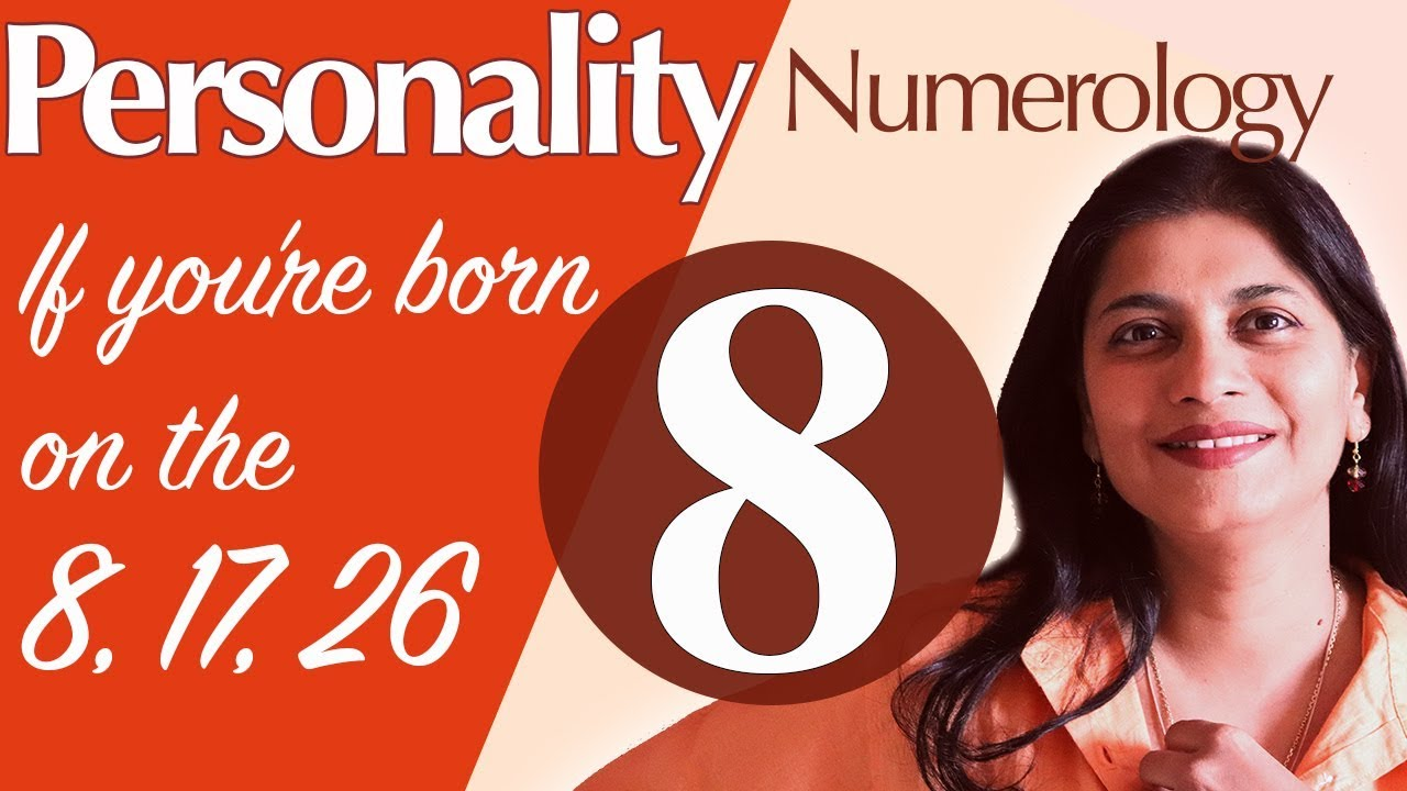 numerology 8 january day person