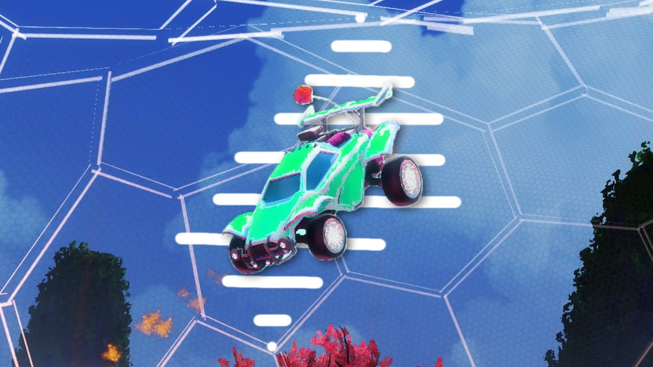 the best car in rocket league (very shocking)