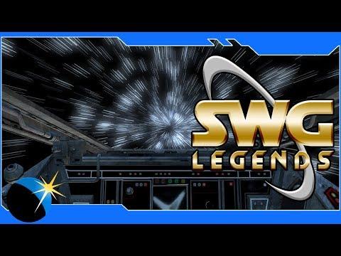 Star Wars Galaxies - SWG: Legends- Space Convoys! - Jump To Lightspeed