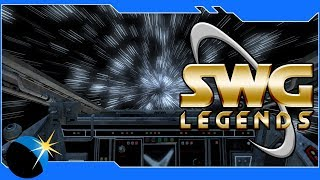 Star Wars Galaxies - SWG: Legends- Space Convoys! - Jump To Lightspeed