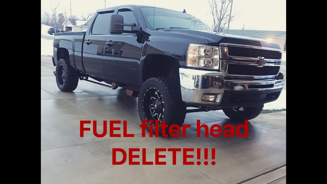 small resolution of lmm duramax fuel filter head delete