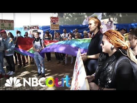 Odessa Pride: Ukrainian City Holds First LGBTQ March | Queer 2.0 | NBC Out