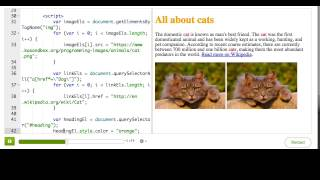 Changing styles | HTML/JS: Making webpages interactive | Computer Programming | Khan Academy
