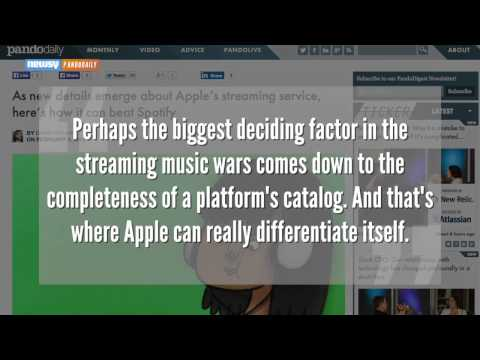 New Details Emerge About Apple's Music-Streaming Service Mp3