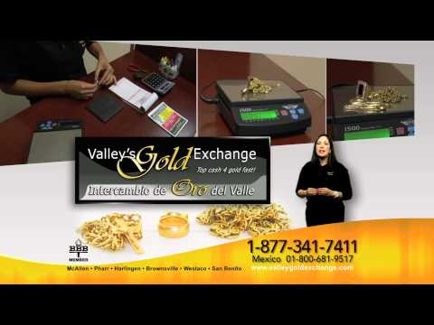 Valley's Gold Exhange, We buy gold and silver! Top Dollar for your gold! Commercial 3