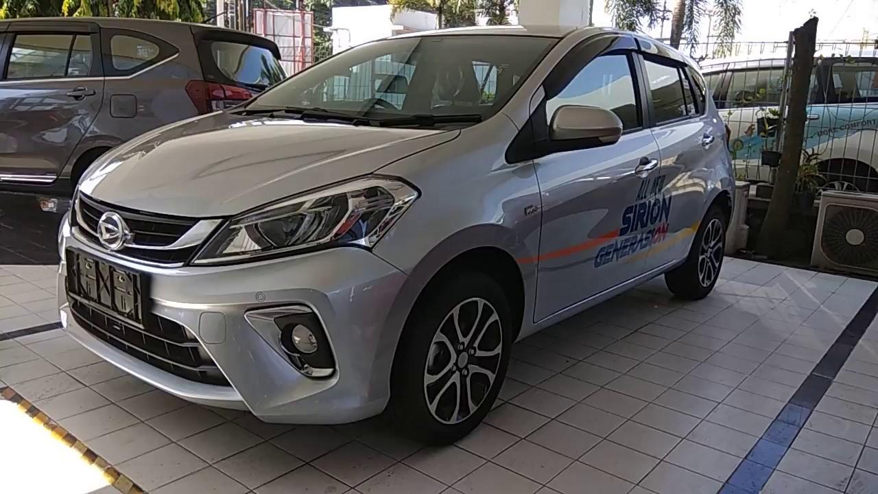 Mobil Test Car Daihatsu All New Sirion 2018 Warna Silver