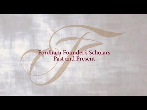 Fordham Founder's Scholars 2016