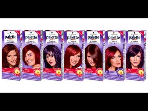 Краски для волос | Топ 10
