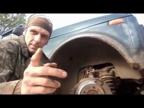 НИВА ремонт замена рулевых наконечников это ужас как прикипело