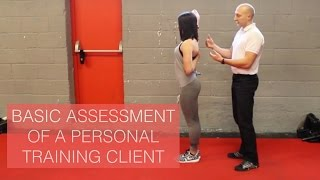 Basic Assessment Of A Personal Training Client
