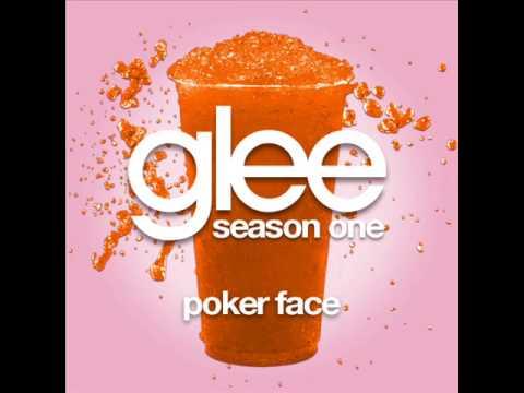 poker face lyrics glee duet