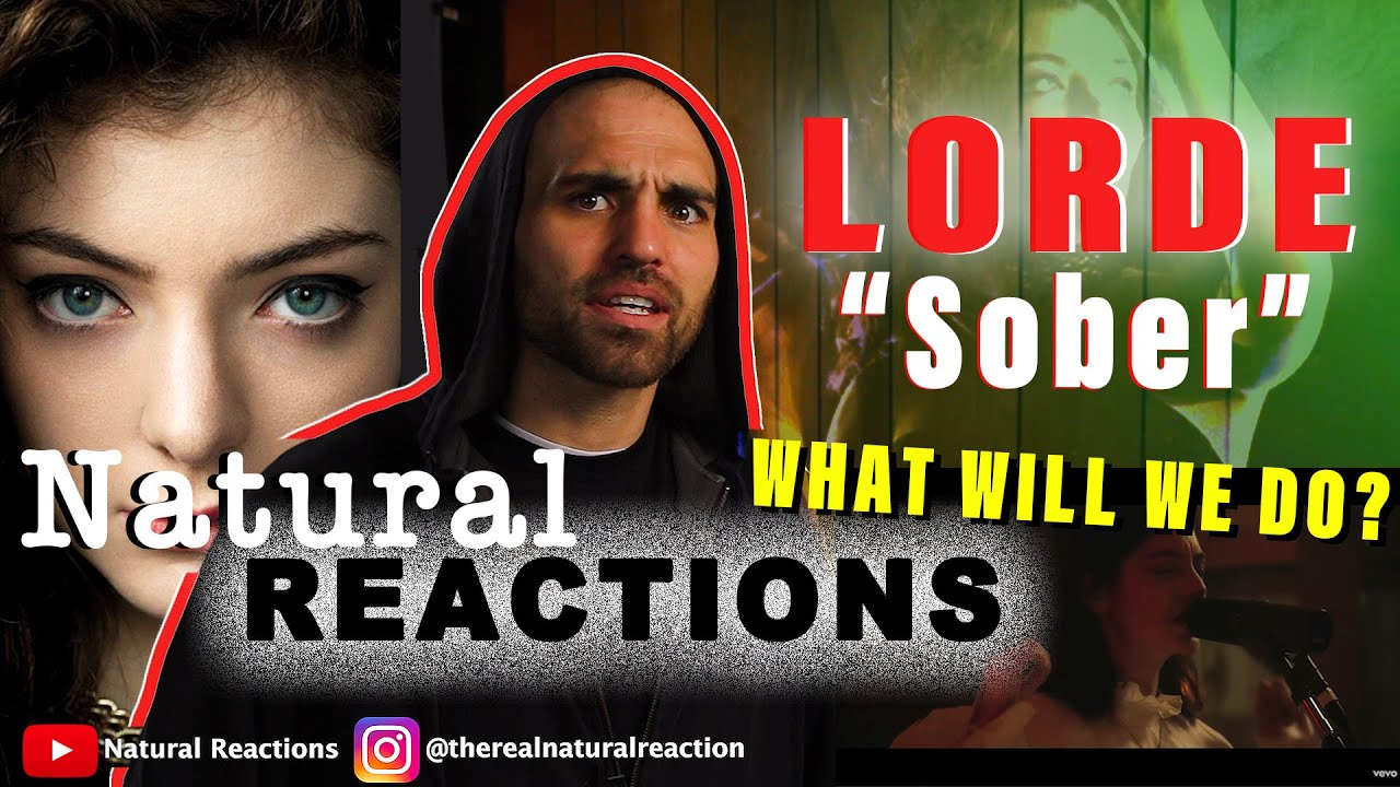 Download Lorde - Sober (Vevo x Lorde) REACTION