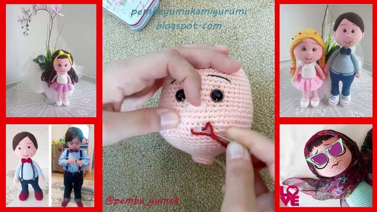How to make amigurumi mouth youtube ccuart Image collections