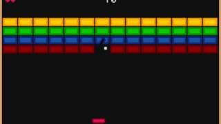 Breakout - Game Boy Advance Game