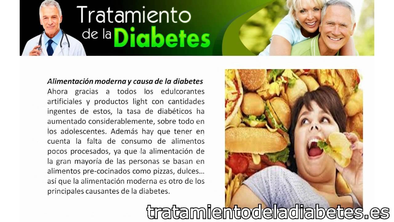 Causas de la Diabetes Mellitus - YouTube