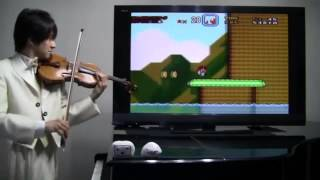 Interpretando Super Mario World en Violin