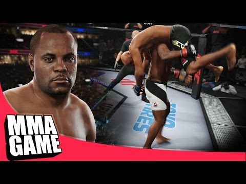 EA SPORTS UFC 2 - Daniel Cormier INSANE Takedown Slams - ONLINE RANKED