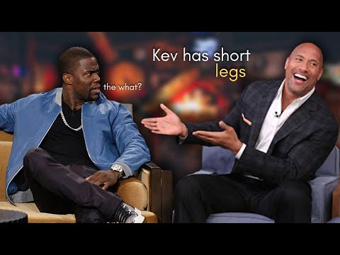 The Rock TROLLING Kevin Hart for 8 Minutes Straight