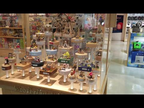 Wooderful Life music Box display at Taipei Airport