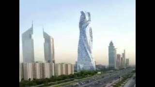 Экзотический Дубай. Вращающаяся Башня.(Дубай. Вращающаяся Башня - невероятное фантастическое творение .Экзотические Объединенные Арабские Эмираты., 2013-09-25T12:16:30.000Z)