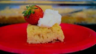 Easy Tres Leches Cake : Mexican Dessert