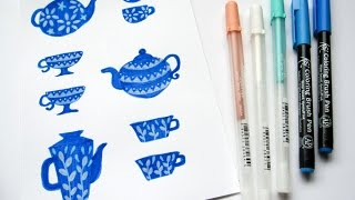 How to Illustrate Teapots & Cups with Yuko Miki