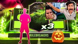 OMG I PACKED 3 RULE BREAKERS!!! FIFA 21