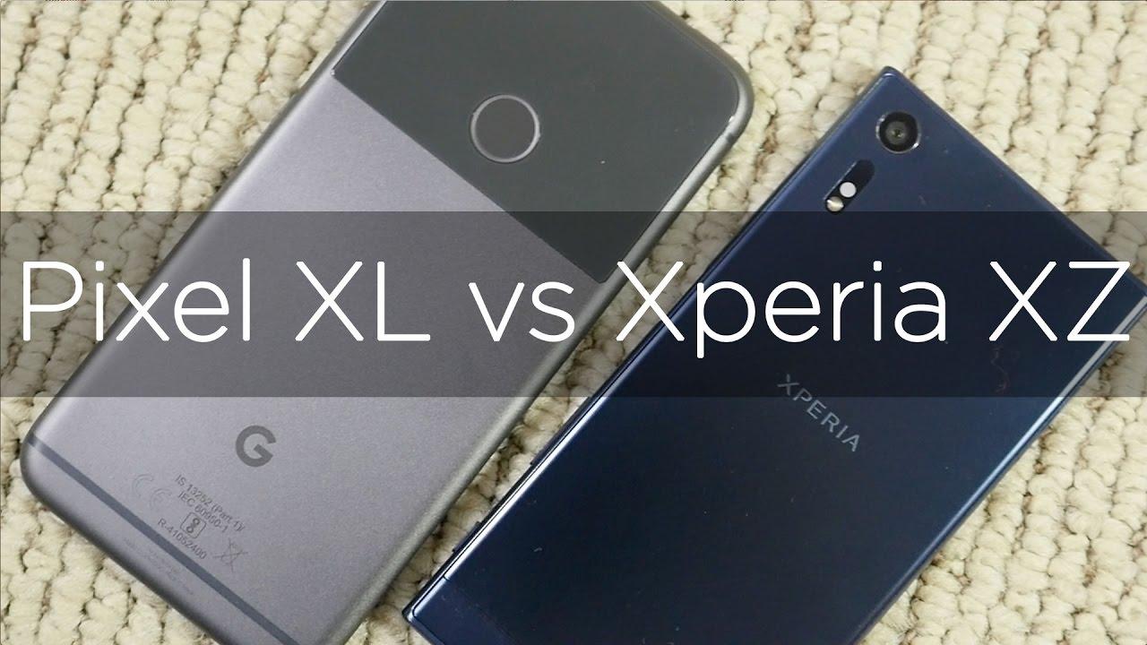 Google Pixel XL vs Sony Xperia XZ Camera Comparison