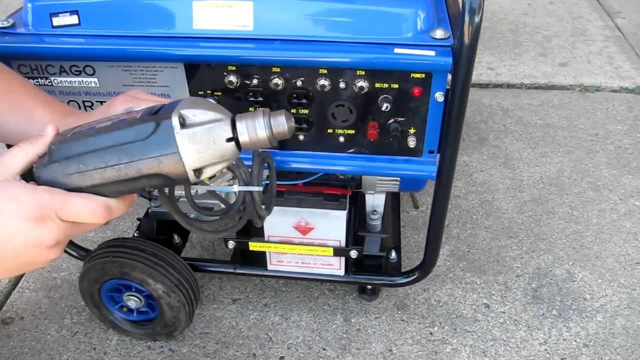 5500   6500 Watt Generator Wise Buys Resale