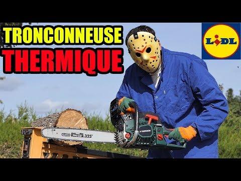 Tronçonneuse Thermique Lidl Parkside à Essence Petrol