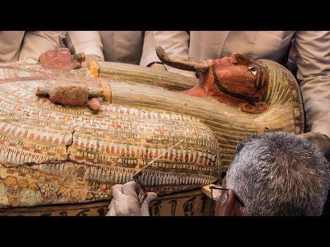 مصر: بالفيديو: أهم اكتشاف أثري  منذ 100 عام  - نشر قبل 8 ساعة