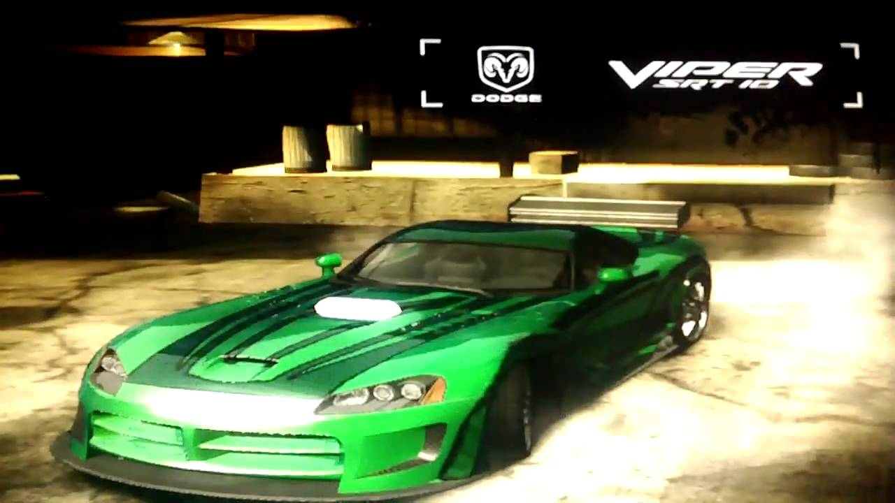 Need for Speed Most Wanted - Joe Vegas Dodge Viper SRT10 ...