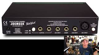 Channel Strip & Mic Combo TOP RECOMMENDATION  for home recording studio JOEMEEK ThreeQ/ SHURE Sm7b