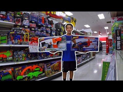 Black Friday NERF Shopping At Target, Walmart, Toys