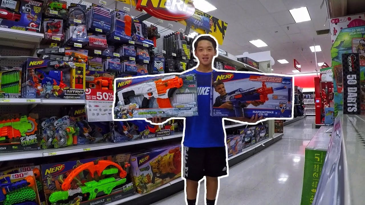 Walmart Toys R Us : Black friday nerf shopping at target walmart toys quot r us