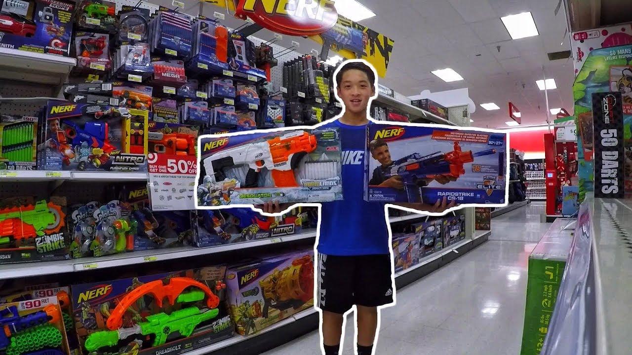 Black Friday Nerf Shopping At Target Walmart Toys R Us