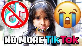 6 Year Old Reacts To Tik Tok Being Banned!! *GONE WRONG*