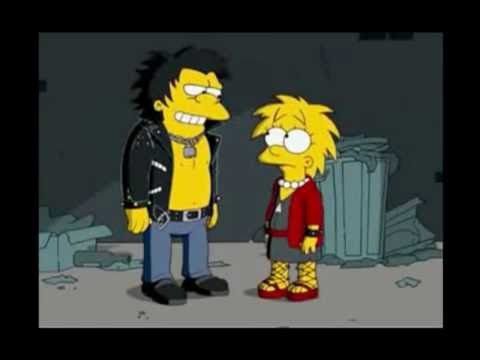 "Sid & Nancy ""homage"". Music credited to Alf Clausen"