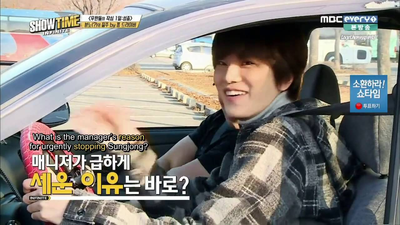 [ENG] 160107 MBC Every1 'Showtime INFINITE' Episode 5 (2/2)